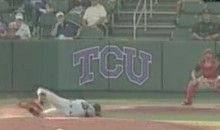 "San Diego State Pitcher Falls On His Face To The Tune Of Breathe's ""How Can I Fall"" (Video)"