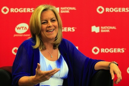 stacey allaster ceo of the wta