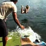 wakeboard fail