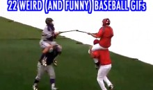 22 Weird (And Funny) Baseball GIFs