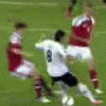 Mesut Özil Had A Rough Day At Euro 2012 On Sunday (GIF)