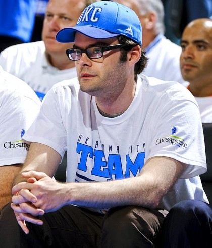#24 bill hader oklahoma city thunder game