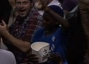 Kid Catches Foul Ball In Popcorn Bucket (Video)