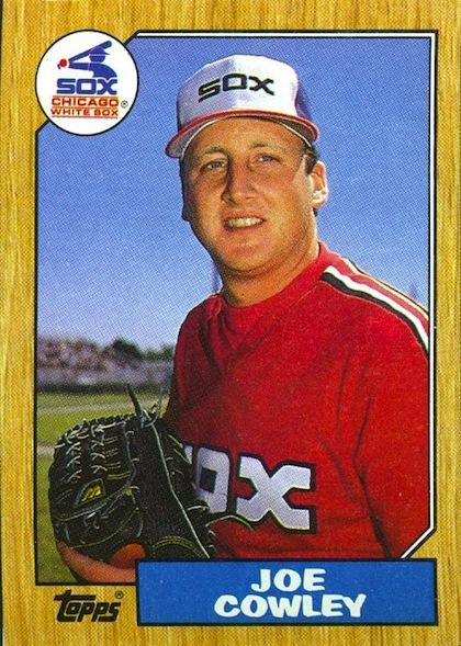 Joe Cowley white sox no-hitter