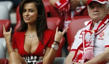 Poland's Natalia Siwiec is the Larissa Riquelme of EURO 2012