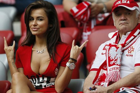 Natalia Siwiec sexy poland fan euro 2012
