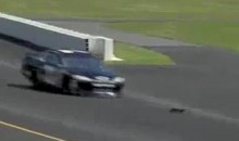 Stephen Leicht Runs Over A Groundhog At Pocono (Video)