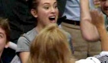 Alyssa Milano Is Super Excited About the L.A. Kings (Video)