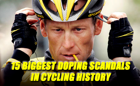biggest cycling doping scandals