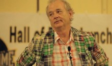 Bill Murray Was Inducted Into The South Atlantic League Hall of Fame (Video)