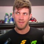 bryce harper clown question bro