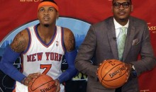 Watch Carmelo Anthony Scare People At A Wax Museum (Video)