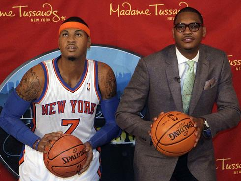 Carmelo Anthony Madame Tussaud's Wax Museum statue