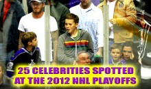 25 Celebrities Spotted at the 2012 NHL Playoffs