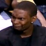 chris bosh weird face