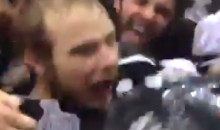 Cool Closeup Video of Kings Celebrating Stanley Cup Victory (Video)