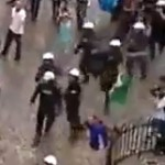 croatian fans clash with polish police at euro 2012