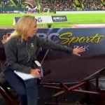 dan o'brien falling off chair during interview