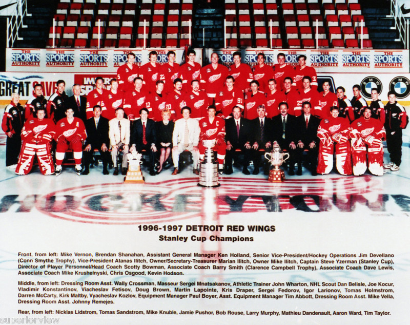 This Day In Sports History (June 7th) - Detroit Red Wings ...