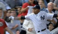 Yankees' Dewayne Wise Doesn't Make The Catch, Tricks Umpire Into Thinking He Did Make The Catch (Video)