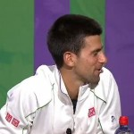 djokovic and sharapove talk dogs