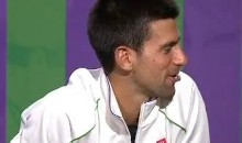 Maria Sharapova And Novak Djokovic Spend Press Conference Talking About Their Dogs (Video)