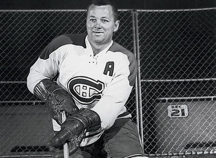 Montreal Canadiens Doug Harvey, 1956