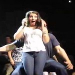gronkowski grinds on chick at fundraiser 2
