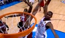 Kevin Durant and LeBron James Threw Down Monster Jams Last Night (Videos)