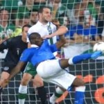mario balotelli wonder goal against ireland at euro 2012