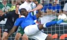 Italy's Mario Balotelli Scores A Wonder-Goal Against Ireland At EURO 2012 (Video)