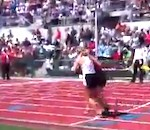High School Runner Stops to Help Fallen Competitor at State Track Finals (Video)