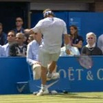 nalbandian kicks line judge