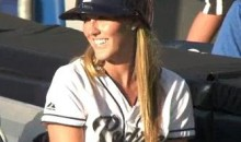 Padres Ball Girl Makes A Great Grab (Video)
