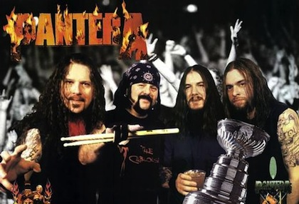 pantera stanely cup 1999