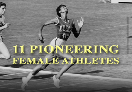 pioneering female athletes