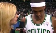 Celtics' Rajon Rondo Called the Miami Heat Crybabies During Halftime Interview (Video)