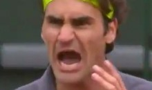 "Roger Federer Screams at French Open Fans to ""Shut Up"" (Video)"