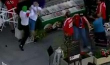 Violence Erupts Between Polish And Russian Fans At Euro 2012 (Videos)