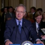 senate majority leader harry reid clown question