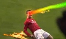 Soccer Celebrations + Special Effects = WIN! (Video)