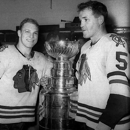 stanley cup chicago 1961