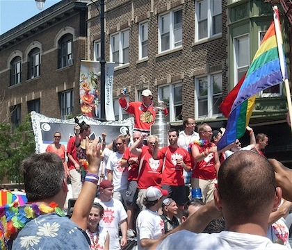 stanley cup gay pride parade chicago