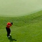 tiger woods amazing shot birdie 2012 memorial