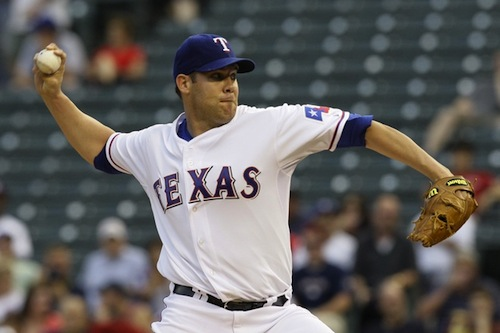 #11 Colby Lewis texas rangers pitcher