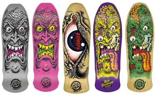 #11 jim phillips Santa-Cruz-Rob-Roskopp-Skateboard-Decks art graphics