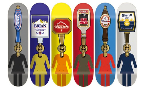 #12 hershel baltrotsky skateboard decks art graphics 1