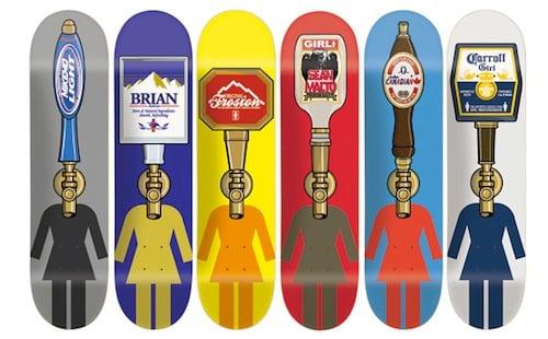 #12 hershel baltrotsky skateboard decks art graphics 1