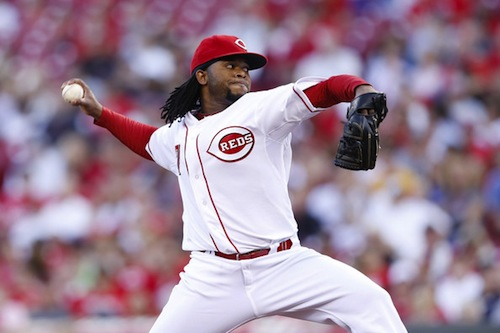#12 johnny cueto cincinnati reds pitcher