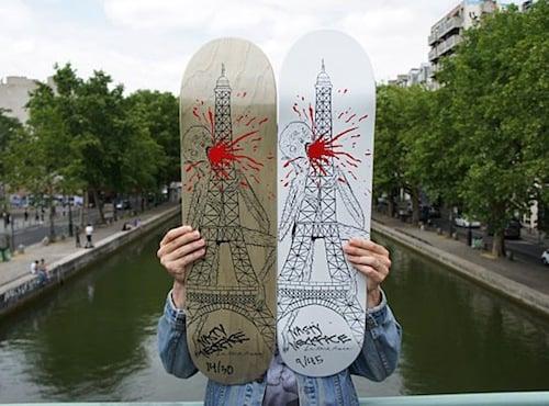 #15 neckface decks skateboard art graphics